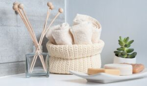 Bathroom Accessories and Wicker
